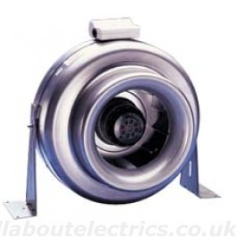 Kitchen XPELAIR 8 INCH CENTRIFUGAL FAN